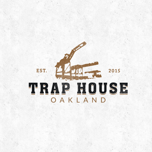 Oakland logo with the title 'Logo for TRAP HOUSE!'