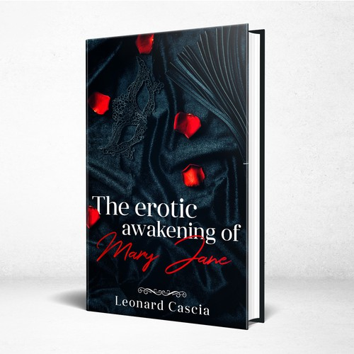 Erotic book cover with the title 'The erotic awakening of Mary Jane - Adult Erotic Fiction'