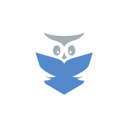 Literacy logo with the title 'Reading Owl'