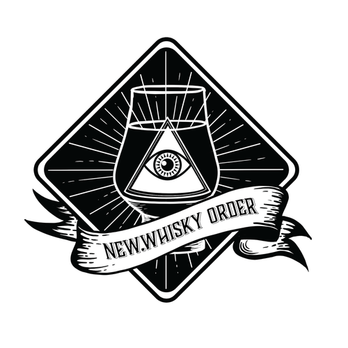 Occult logo with the title 'New Whisky Order - Logo '