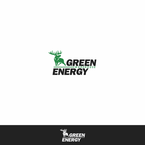 Go green design with the title 'Green Energy'
