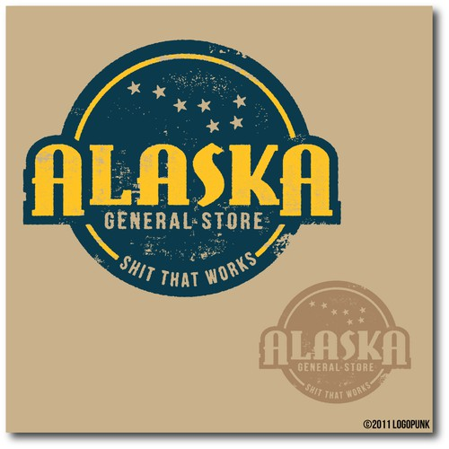 Alaska logo with the title 'Alaska General Store'