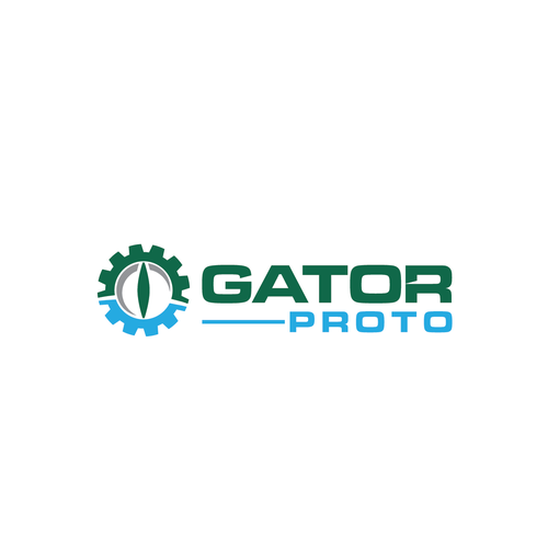 Crocodile logo with the title 'Logo design for Gator Proto '