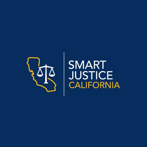 Politics logo with the title 'Runner-up logo concept for an organization in California dealing with criminal justice. [October 2017]'