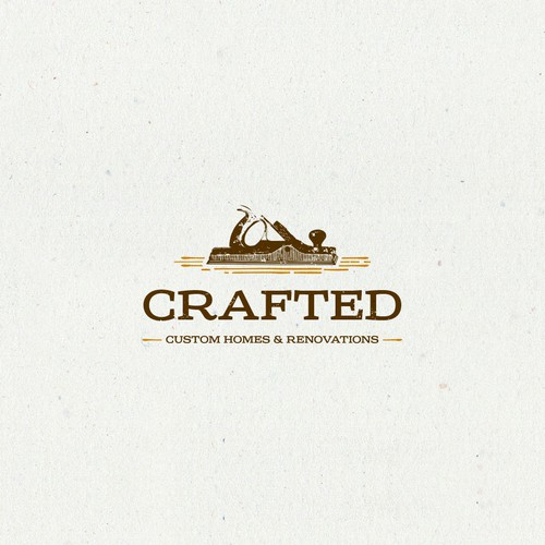 Home design with the title 'Logo for Crafted'