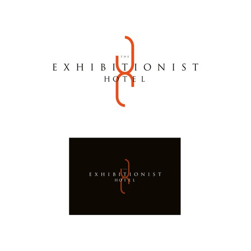 Boutique brand with the title 'The Exhibitionist Hotel'