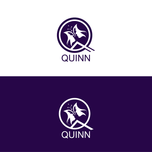 Q logo with the title 'illustrative logo concept for quinn'