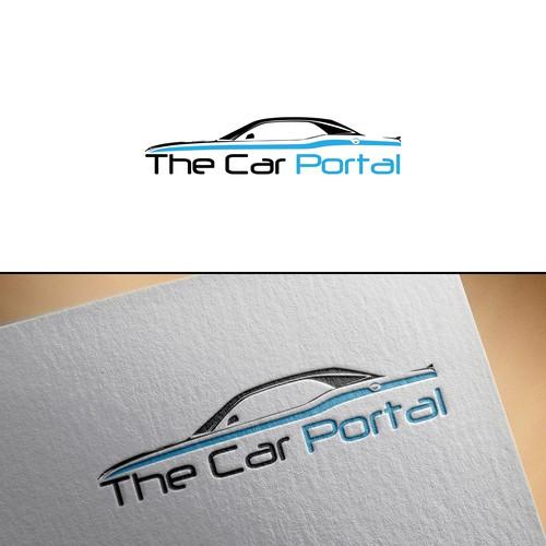 Portal logo with the title 'Logo For The Car Portal Comparison Website.'