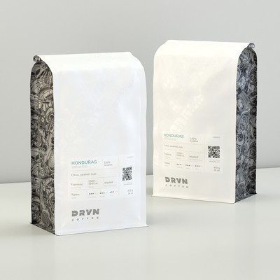 Coffee Bag Packaging and Label Design