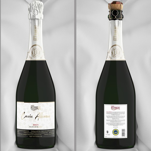 Champagne design with the title 'Cuvée Alliance'