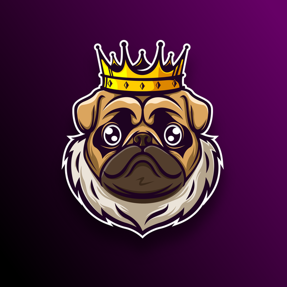 Pug design with the title 'The Pug'