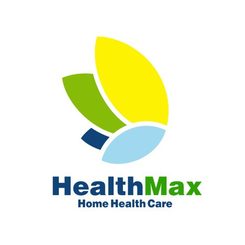 Home care logo with the title 'HealthMax Concept'