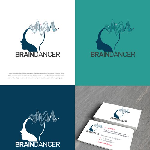 Dancer design with the title 'brain dancer'