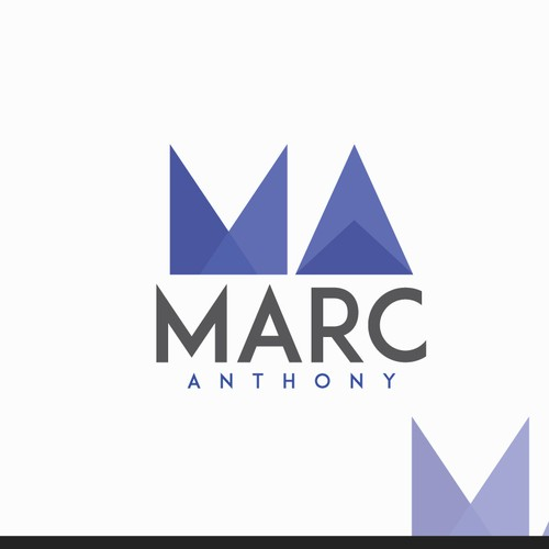 Disco logo with the title 'Create a solid logo for Marc Anthony EDM producer.'