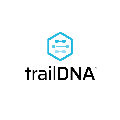 Hexagon logo with the title 'trailDNA'