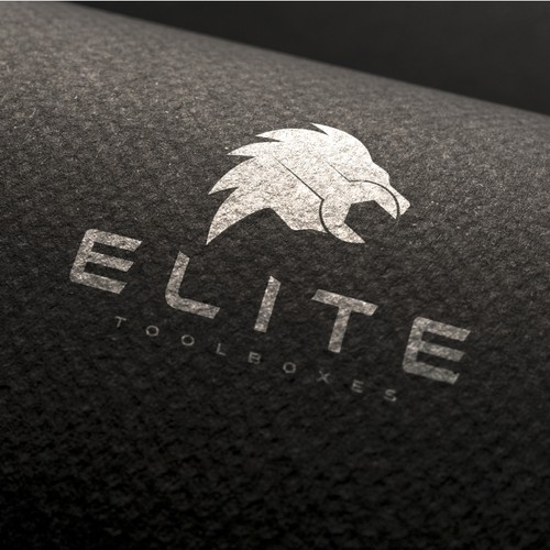 High-tech logo with the title 'ELITE TOOLBOXES'