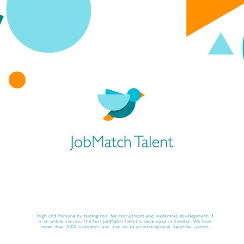High-tech logo with the title 'JobMatch Talent'