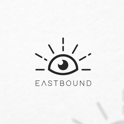 Eye brand with the title 'Interessting logotype for clothing company'