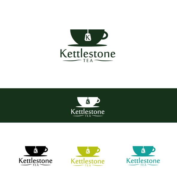 Teacup design with the title 'Kettlestone Tea'
