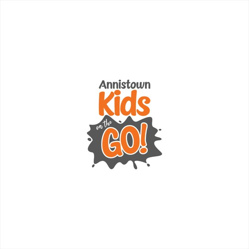 Ministry logo with the title 'Annistown Kids on the GO!'