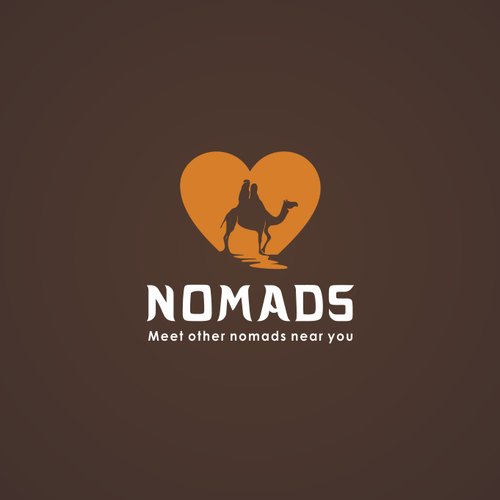 Camel logo with the title 'Nomads'