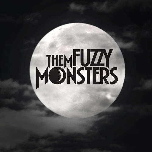 Band logo with the title 'Logo for Them Fuzzy Monsters'