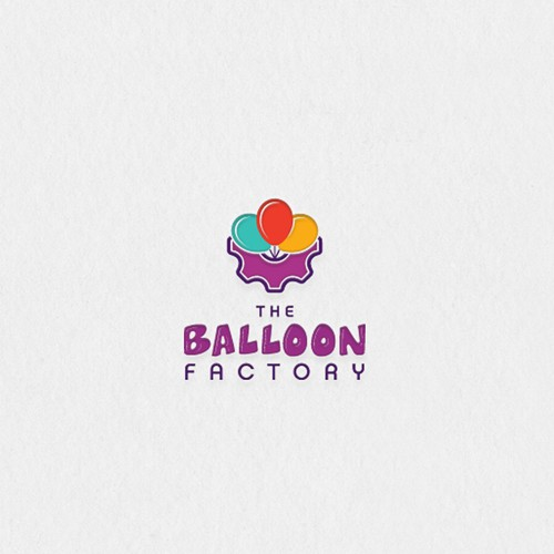 Machinery logo with the title 'Baloon factory'