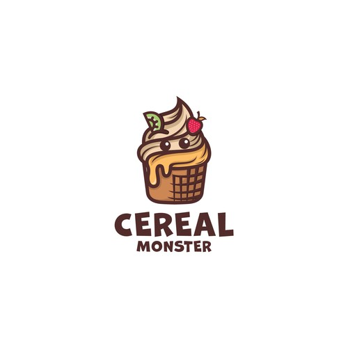 Cereal logo with the title 'Cereal Monster'