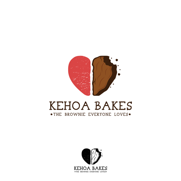 Brownie logo with the title 'KEHOA BAKES'