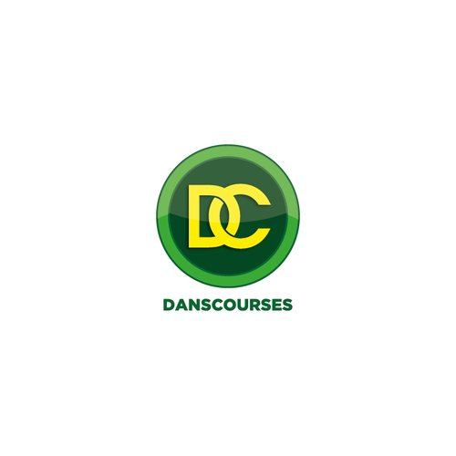 Green and yellow logo with the title 'Danscourses'