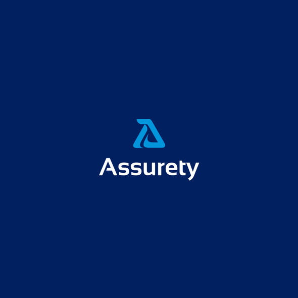 Source design with the title 'Logo Design for Assurety Financial Company.'
