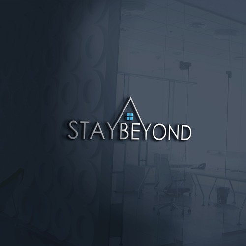 Government logo with the title 'Logo concept for stay beyond'