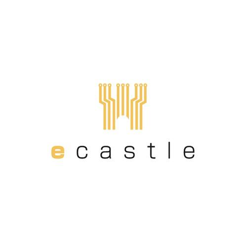 Gadget logo with the title 'E castle'