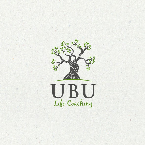 Therapeutic design with the title 'Logo for UBU Life Coaching'