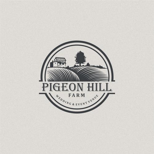 Dubai logo with the title 'Pigeon Hill Farm'