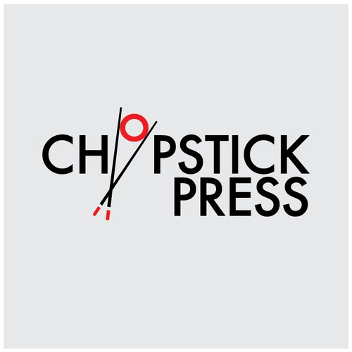 Press logo with the title 'Chopstick Press Logo'