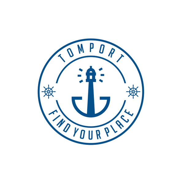 Port logo with the title 'Tomport'