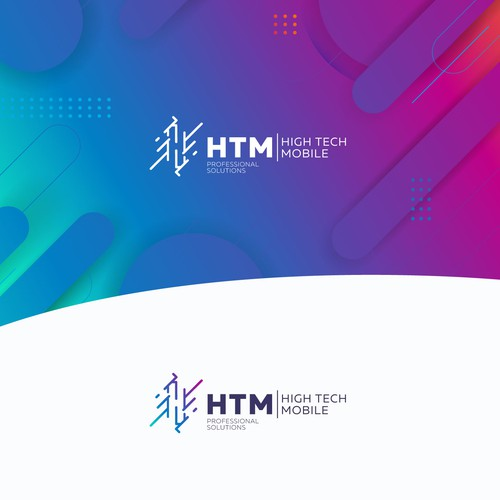 Payment design with the title 'Logo for HTM'