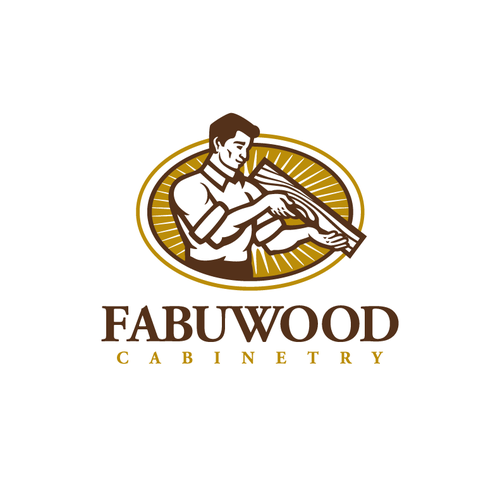Carpentry logo with the title 'Fabuwood Cabinetry'