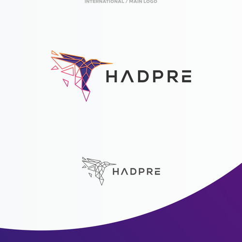Bird brand with the title 'Powerful Hummingbird Logo for Non-Profit '