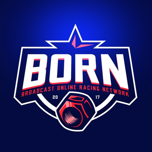 Red logo with the title 'BORN and LUGS logo'