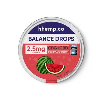 Packaging design for CBD Drops