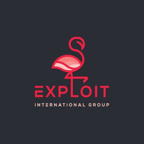 Flamingo logo with the title 'EXPOLIT'