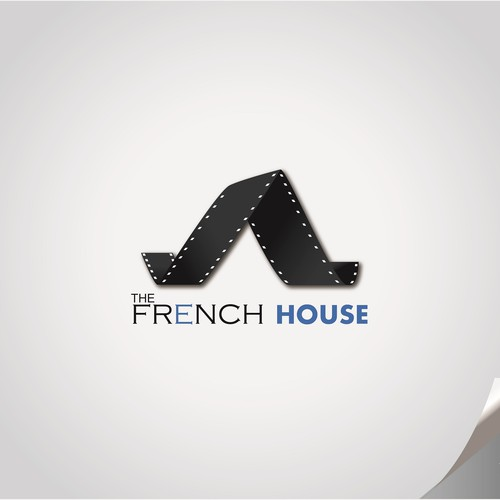 Hollywood logo with the title 'The French House '