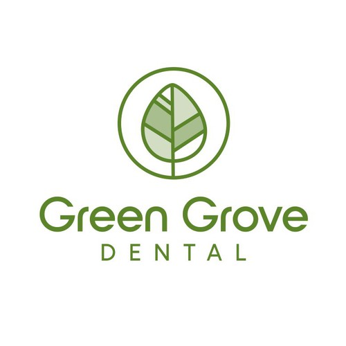 Dental brand with the title 'Green Grove Dental '