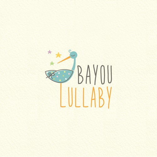 Blanket design with the title 'Bayou Lullaby'