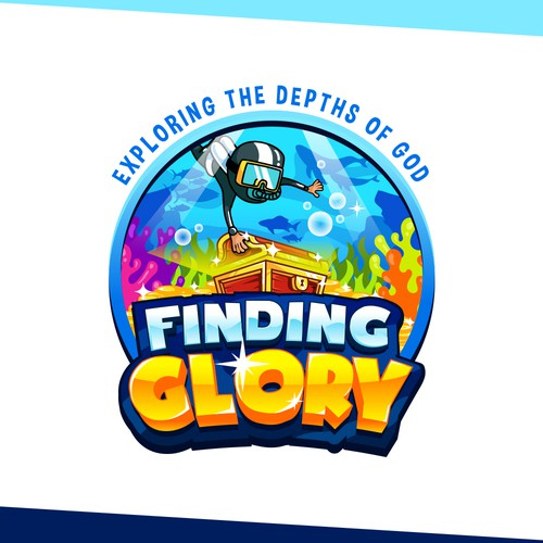 Treasure design with the title 'Finding Glory'