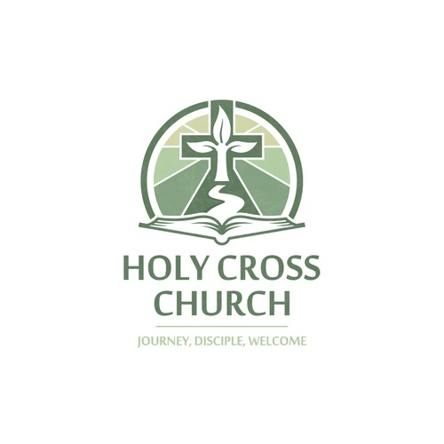Journey logo with the title 'Elegant logo for Catholic church'