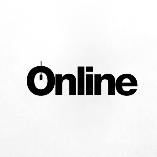 Mouse logo with the title 'Online Logo'