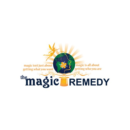 Recovery logo with the title 'Magic Remedy'